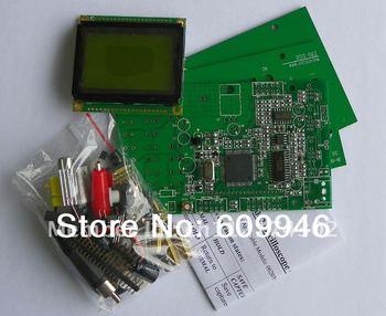 Educational electronic DIY Kit Pocket LCD Digital Storage Oscilloscope/20MHz professional BNC Probe Kit/AVR development board