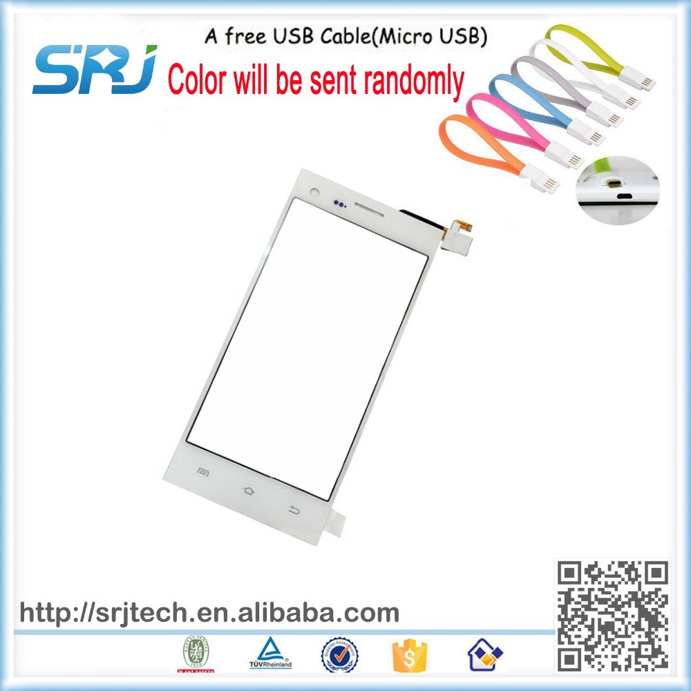 5'' White Original Touhscreen THL T11 Touch Screen Digitizer Glass Sensors Replacement Panel+A Free USB Cable