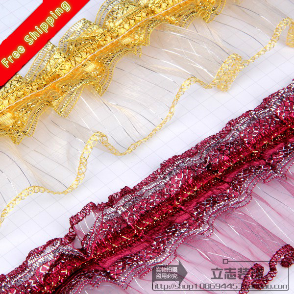 Fshion 10 Yard/lot 7 Colors Curtain Lace Accessories Tassel Fringe Trim Diy Sewing Decoration Free Shipping(China (Mainland))