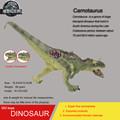 Hot toys Carnotaurus Simulation model Jurassic park dinosaur action figure Souptoy new genuine