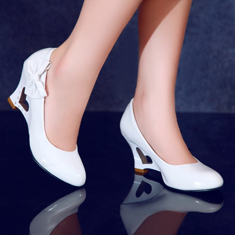 Heart Shaped High Heel Shoes