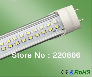 Waterproof IP65 600mm 2ft 9W T8 led tube led lamp led fluorescent tube, 10pieces/lot+free shipping(China (Mainland))
