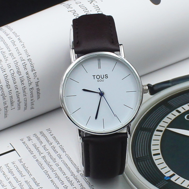 New classic Watches Brand Watches For Men women Leather strap Japan movement Military Quartz Clock Reloj hombre Wristwatch(China (Mainland))