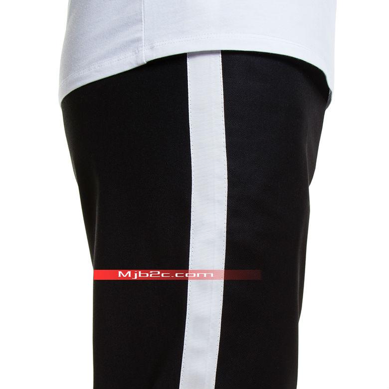 Michael Jackson Costume Billie Jean Clothing White Stripe Pants Trousers