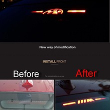 1 PCS Car New DIY Acrylic Back High Brake Light Sticker Cover Case For Bmw New 3 7 2011-14 5 series 320 328 F30 F35 Accessories(China (Mainland))