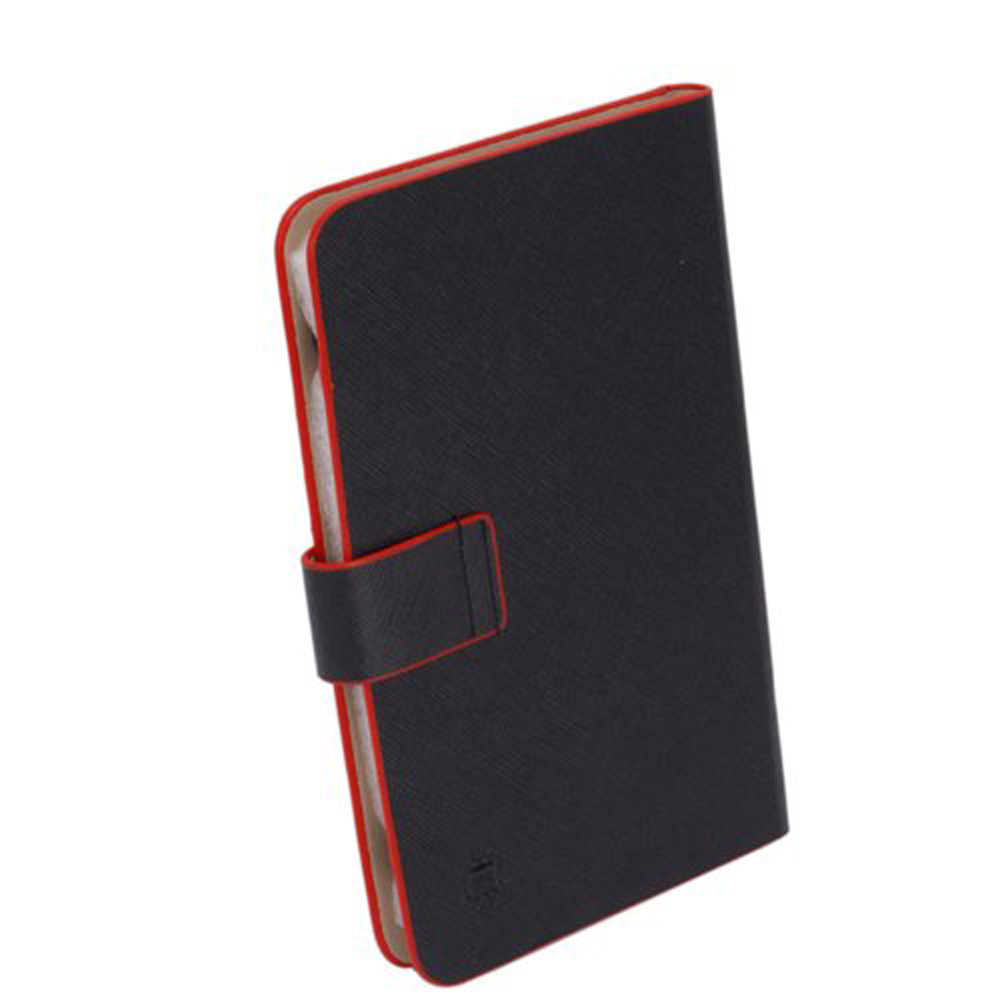 New 7-inch RED Trim Leather Case_Android Tablet PC_MID/NOVO7/ePad/Superpad(China (Mainland))