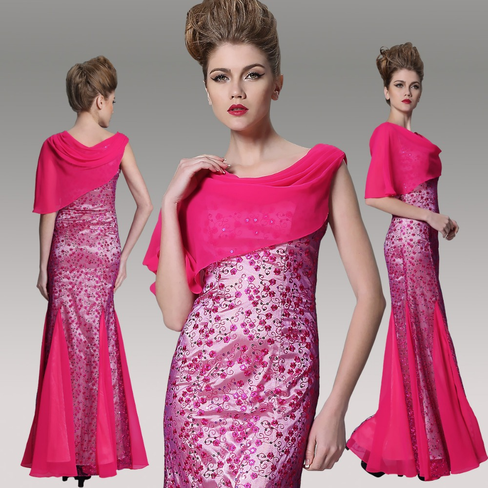 Lady evening dress S M L XL XXL 5R70957 Free Shipping Hot Sale mermaid evening dress Hot Sale Dress party evening elegant(China (Mainland))