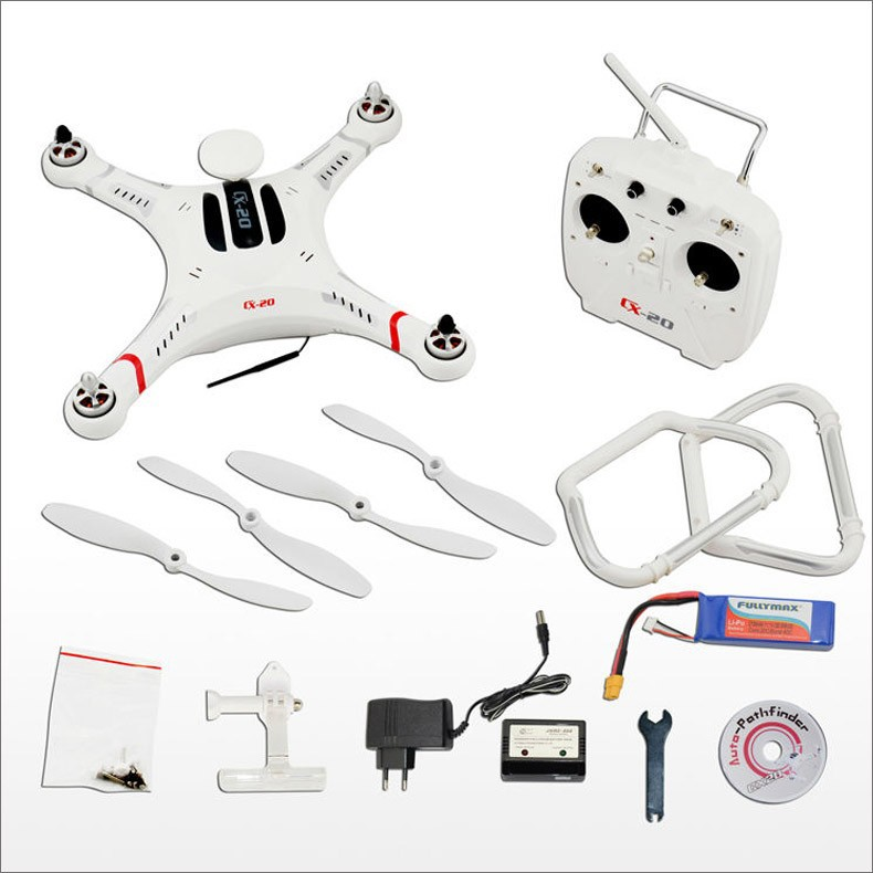 F08965 Original Cheerson CX 20 CX20 2 4GHz 4CH 6 Axis Gyro RC Quadcopter with GPS