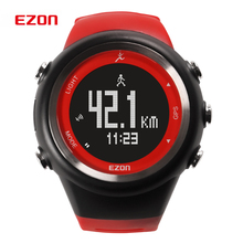2015 EZON hombres mujeres deportes ocasionales relojes GPS que recorre exterior relojes digitales multifunción / T031