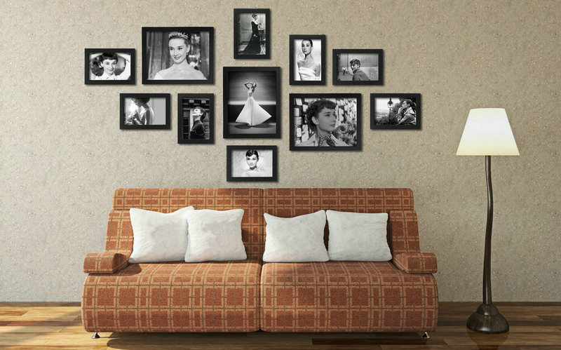 Inspiration 25 Wall Frame Collage Decorating Design Of