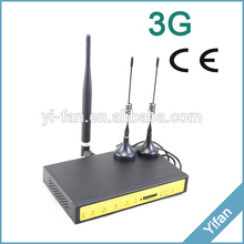 F3426 3g industrial cellular wifi router for ATM, Kiosk, Solar PV system(China (Mainland))
