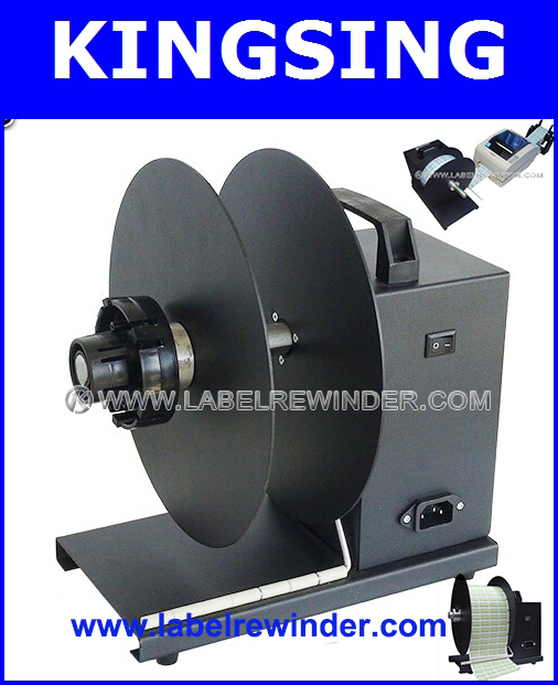 Heavy-duty Label Printer Rewinder KS-R6(220V) + Free shipping by DHL/ Fedex (door to door service)(China (Mainland))