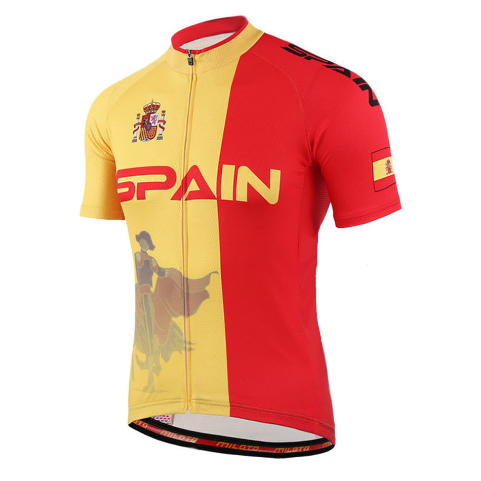 POWER ME High Quality SPAIN Cycling Jerseys Roupa Ciclismo/Breathable Racing Bike Cycling Clothing(China (Mainland))