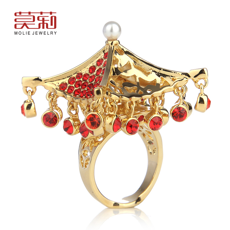 Free shipping Chinese style ring molie mj0007 2014 new jewelry<br><br>Aliexpress