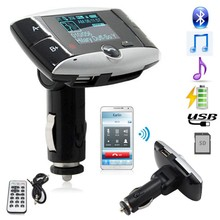 New Hot Wireless Bluetooth FM Transmitter Modulator Car Kit MP3 Player SD USB LCD Remote Best Quality(China (Mainland))