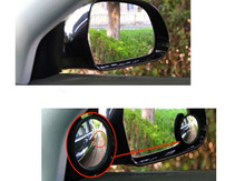 Car Wide Angle Round Vehicle Mirror Blind Spot RearView Volkswagen VW polo passat CC golf jetta mk6 tiguan Gol Plus Eos - 003 AUTO STORE store