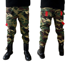 New Boys Unique Camouflage Pants Children Outdoor Military Style Trousers Kids Sporting Comfort Denim Trousers Wear Resistant(China (Mainland))