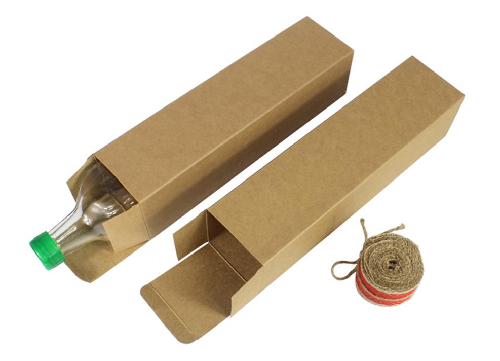 Cm custom kraft paper box rectangular olive oil
