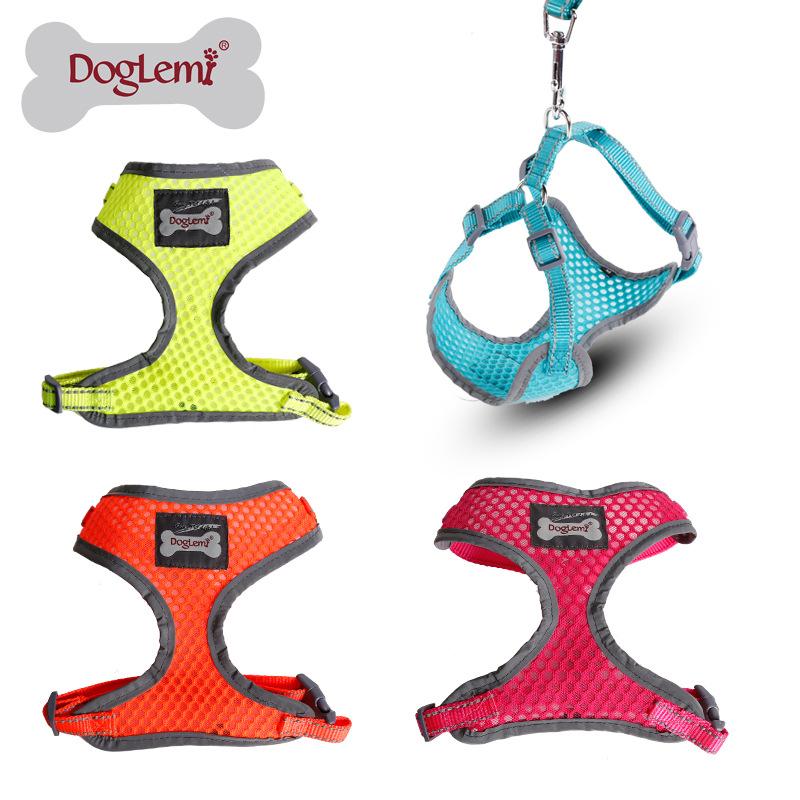Trade Assurance DogLemi Pet Dog Products Dog Harness Manufacturers Reflective Harness for Dog Fashion Breathable Dog Harness(China (Mainland))