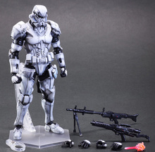 Buy 27cm White Soldiers Galactic Empire Imperial Stormtrooper Star Wars Action Figure PVC Model Toys Dolls Gift for $32.15 in AliExpress store