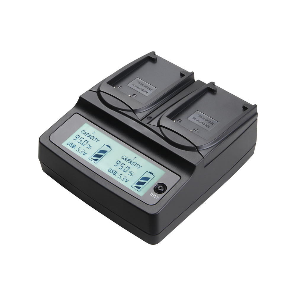 Udoli NP-W126 NPW126 W126 Battery Dual Charger For FUJIFILM HS50 HS35 HS33 HS30EXR XA1 XE1 X-Pro1 XM1 HS35EXR HS50EXR Cameras