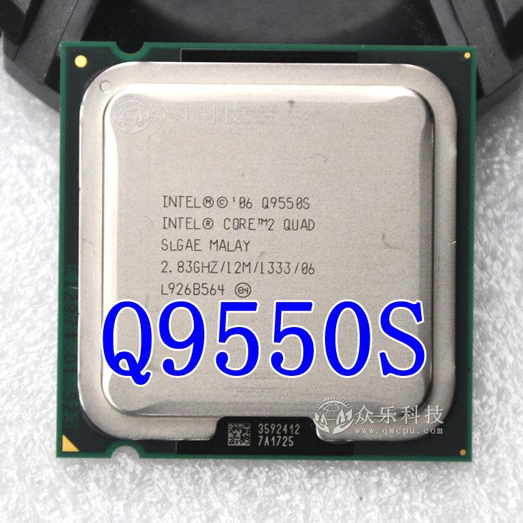 For Intel Core 2 Quad Q9550S 2.83 GHz Quad-Core SLGAE Processor LGA775 65W CPU(China (Mainland))