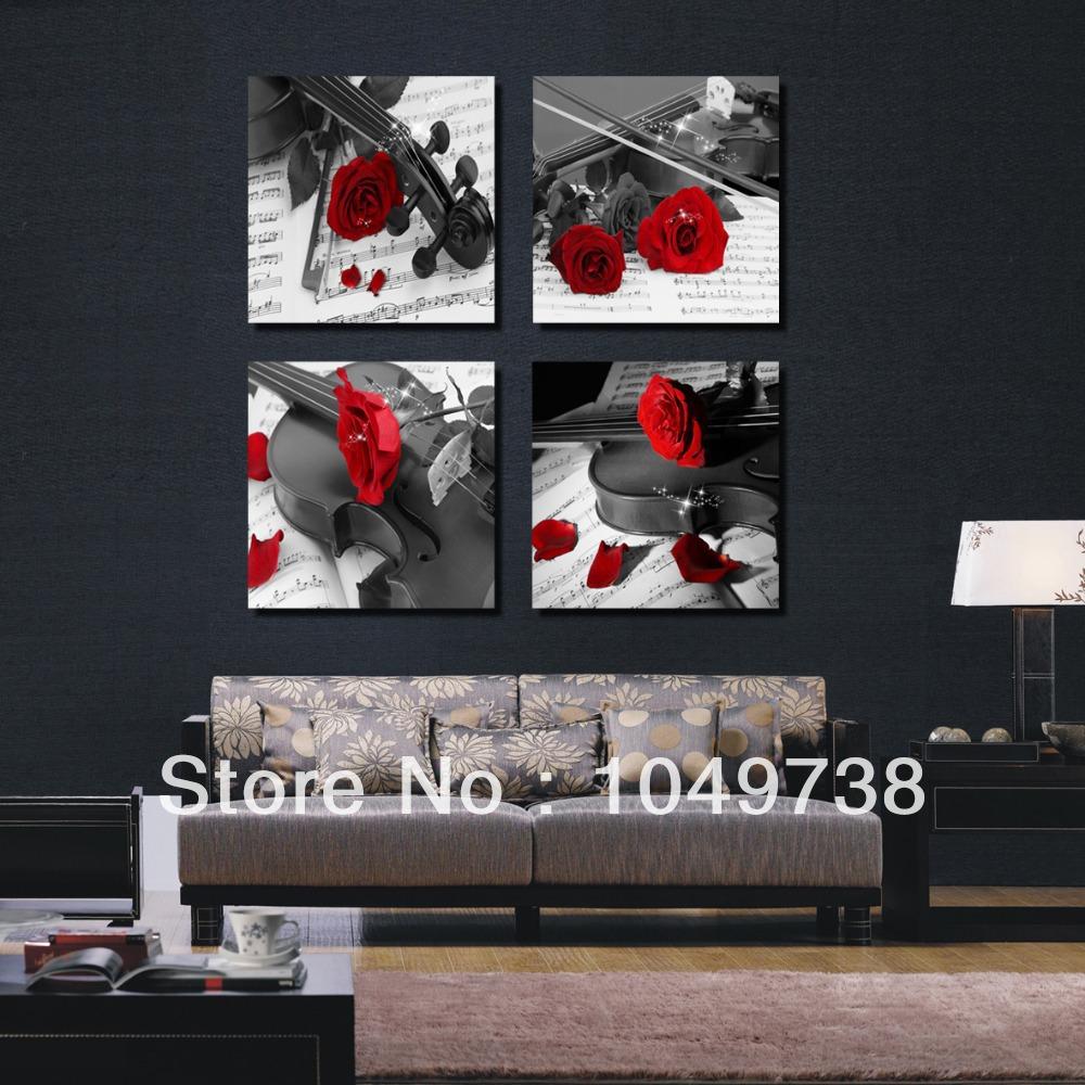 wandbilder wohnzimmer schwarz weiss – Dumss.com