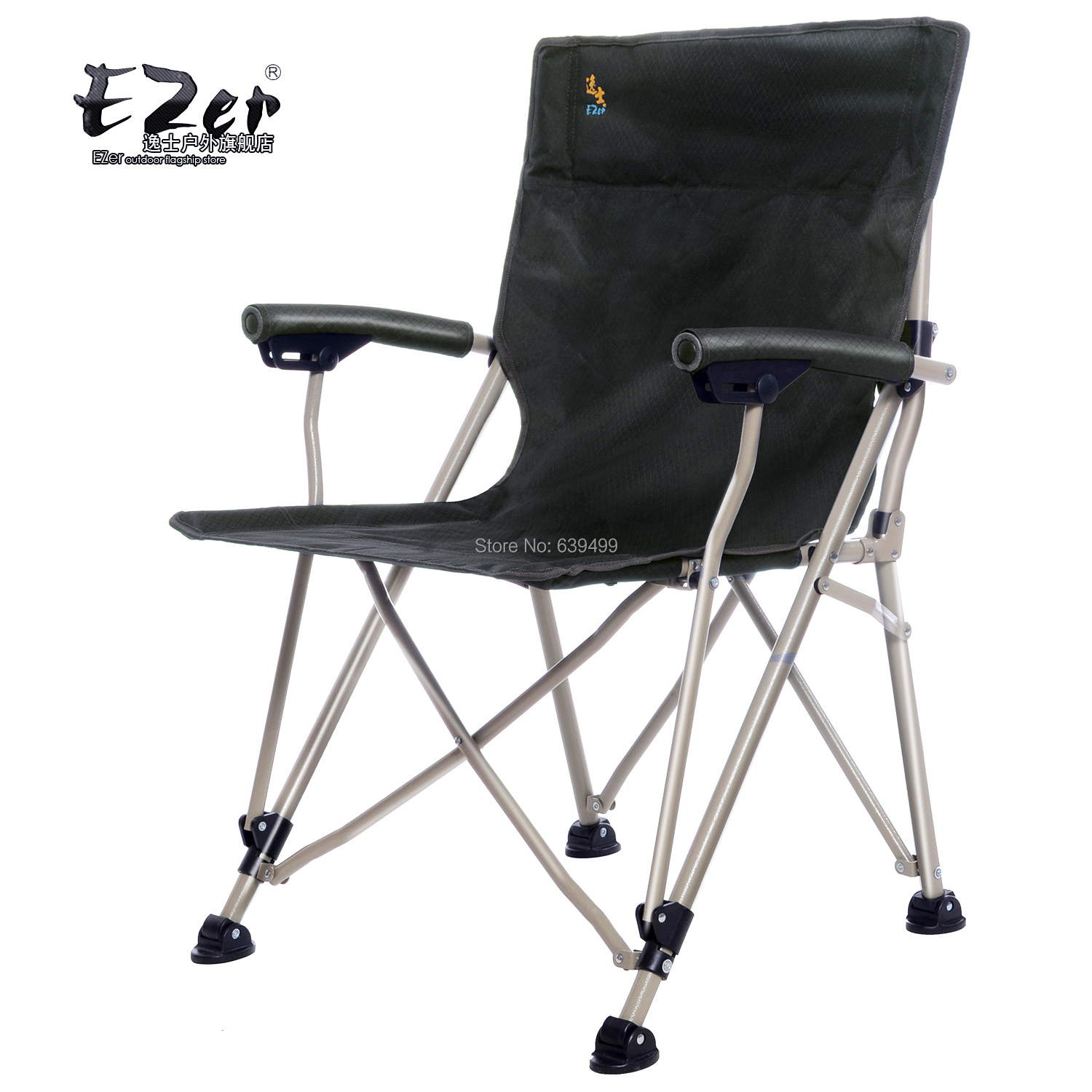 com buy ezer full outdoor folding chairs portable director chair