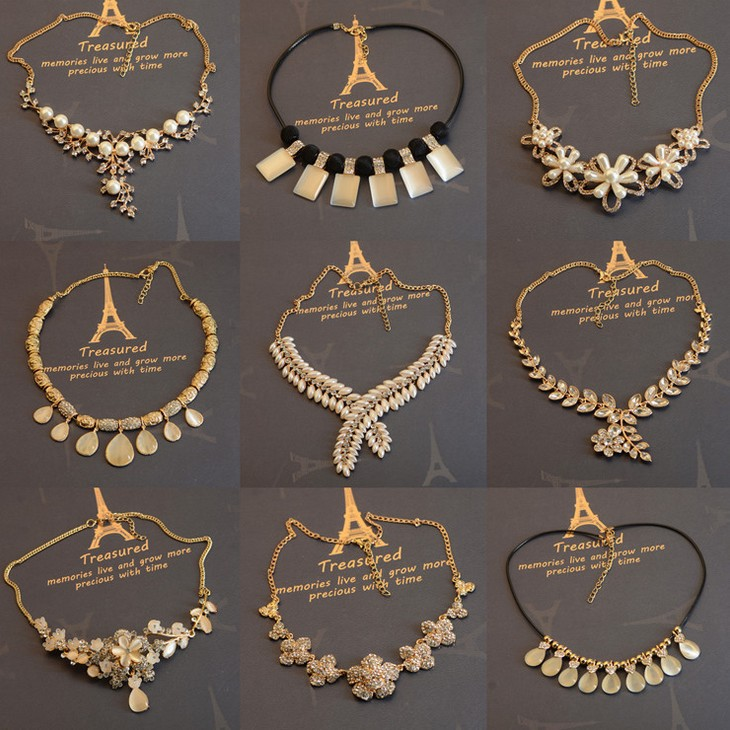 Summer Style Choker Necklaces Big Clearance Sale Wholesale Necklace Mix Lots Nickel Free Jewelry(China (Mainland))