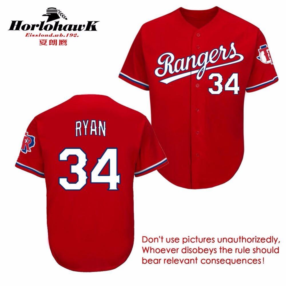 Adrian Beltre #34 Nolan Ryan #12 Rougned Odor #84 Prince Fielder #7 Ivan Rodriguez Jersey Any Name Customized Baseball Jerseys(China (Mainland))