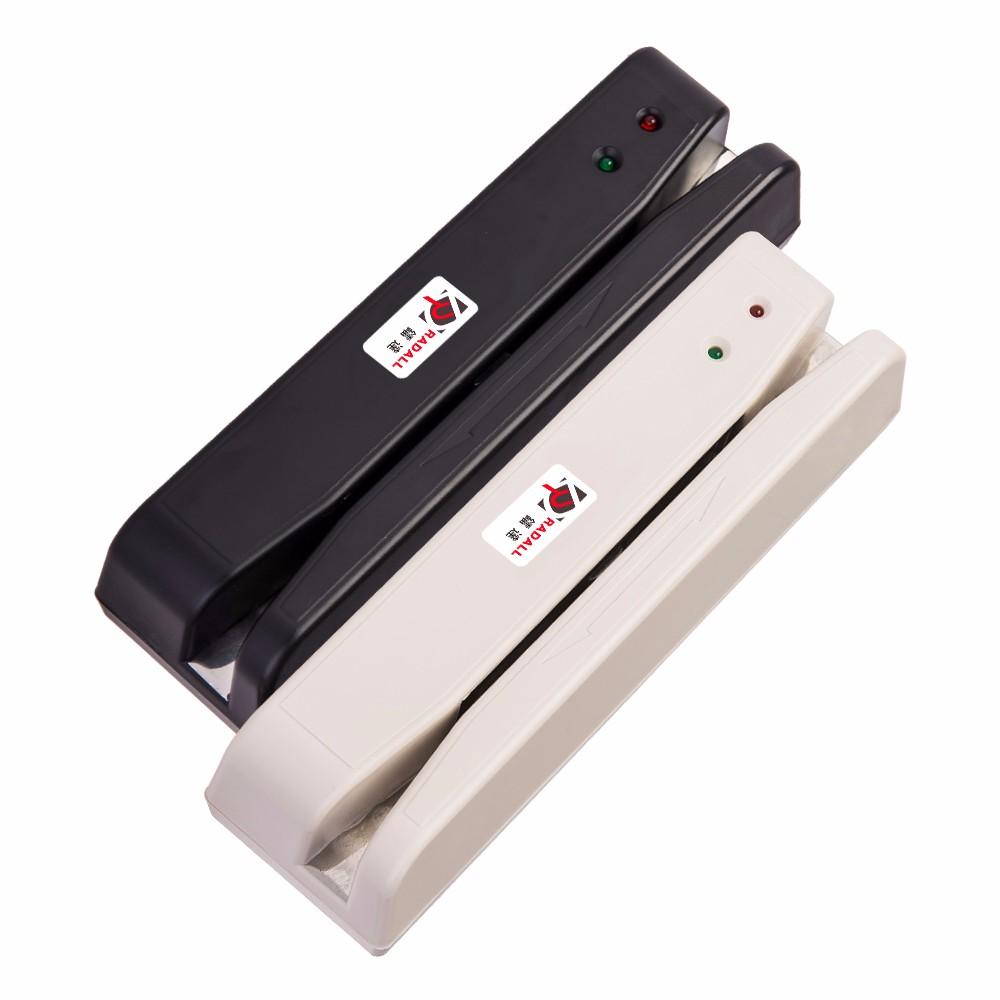 RD-400 USB Magnetic Stripe Card Reader 2 Track MSR Card Reader POS Reader Magnetic Stripe Card 2 track(China (Mainland))