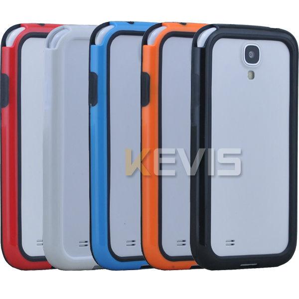 1 x TPU Frame Bumper  For Samsung Galaxy S4 4 IV I9500