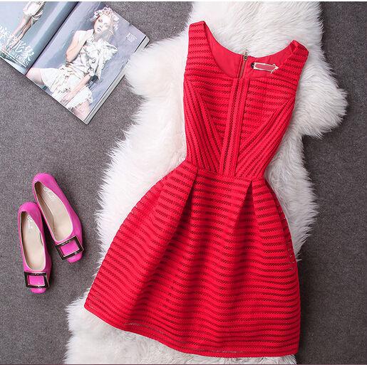 Мода женщины одеваются летом 2016 свободного покроя без рукавов Bodycon элегантный ну вечеринку платья Большой размер