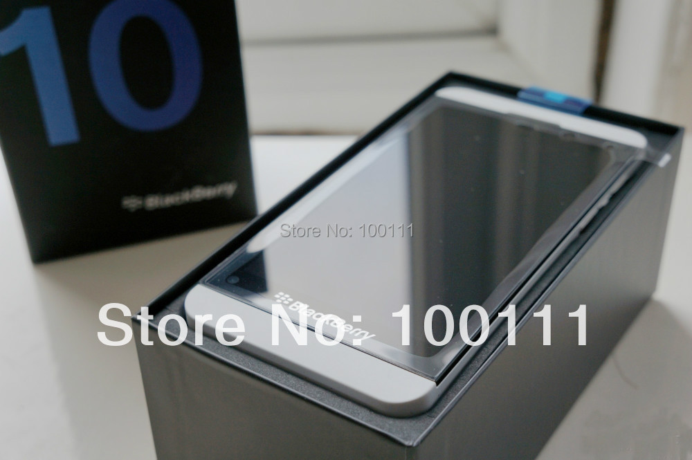 Free shipping & unlocked Original BlackBerry Z10 Cell phones phone 4.2 Capacitive touchscreen,8MP camera,(Hong Kong)