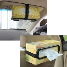 A25 hot-selling 1 x Tissue Paper Box Holder Auto Accessories Paper Napkin Seat Back Bracket free shipping(China (Mainland))