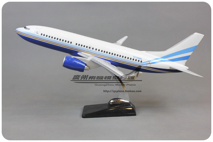 48cm Resin Air Las Vegas Sands Airways Boeing B737 300 Airlines Plane Model Airplane Model Toy Collections Decoration Gift(China (Mainland))