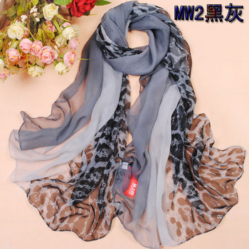 Free Shipping Comfortable Large Georgette Silk Scarf Spring And Summer Scarf Boidae Chiffon Sun Cape Wraps