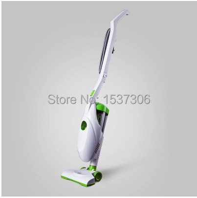 New Ultra Quiet Mini Home Rod Vacuum Cleaner Portable Dust Collector Home Aspirator White&Green Color Puppy D-520 PUPPYOO(China (Mainland))