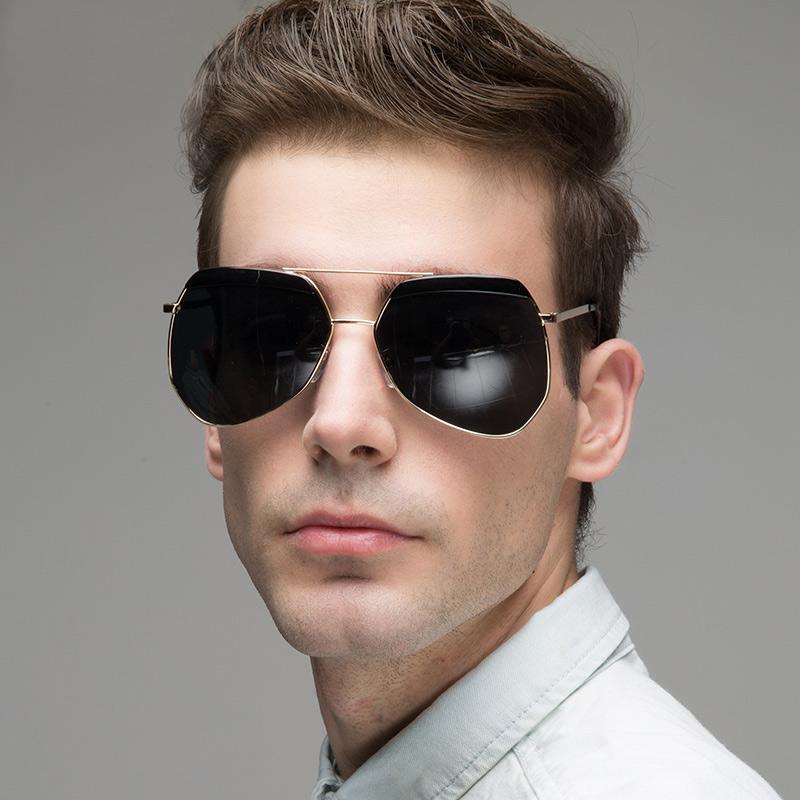 2016 Fashion Metal Sunglasses With Original Box As Brand Designer Vintage Out Door Sun Glasses For Men Women UV400 Cool Frames(China (Mainland))