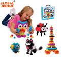 400 pcs Mega Pack Accessories DIY Magnetic Toys Education Assembling Building Block for Children Baby Kids