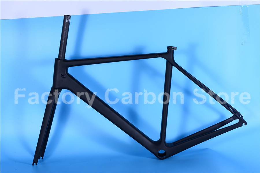 High Quality Bike Accessories Carbon Frameset Cool Style New Arrival Road 700C Complete Carbon Road Bike Frame(China (Mainland))