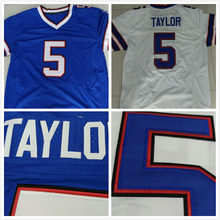 Buffalo #5 Tyrod Taylor Jersey Elite American Football Jerseys White and Blue, Cheap Football Jerseys Stitched Free Shipping(China (Mainland))