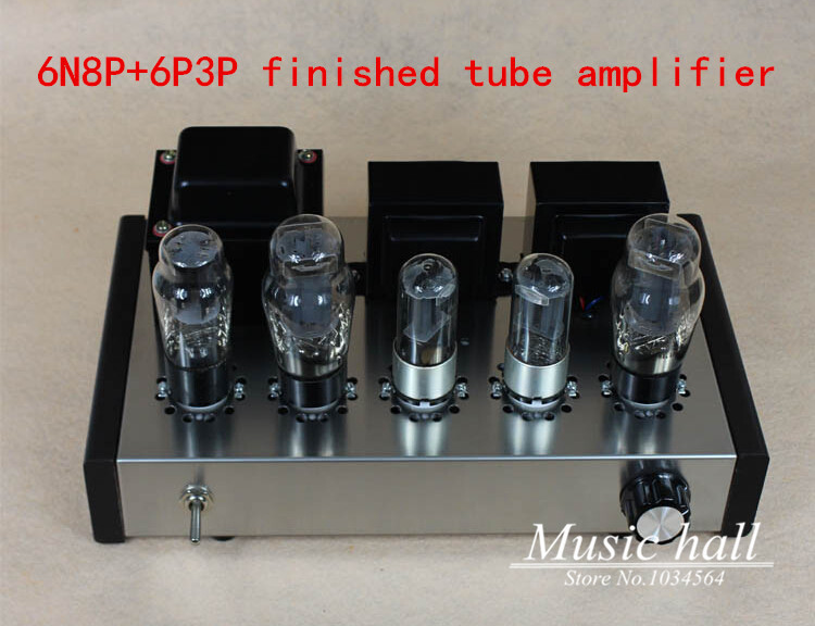 Music Hall 6N8P+6P3P HIFI Single-Ended pure Class A Tube amp vacuum power amplifier finished product 110~240V<br><br>Aliexpress