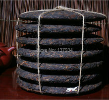 357g made in 1990 Chinese Ripe Puer Tea The China Naturally Organic Puerh Tea Black Tea Health Care Cooked Pu er Free Shipping