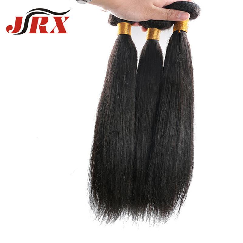 JRX Hair 5A 100% Unprocessed Indian Virgin Hair Human Hair Extensions Bundles Virgin Straight Top 10-30inches 3Pcs/Lot<br><br>Aliexpress