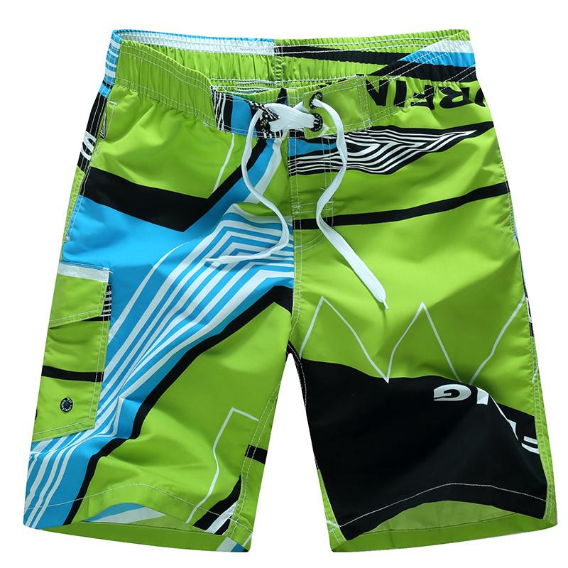 2015 HOT Quick Dry Men Shorts Brand Summer Casual Clothing Geometric Swimwears Beach Shorts Men's Surf Board Shorts #B33(China (Mainland))