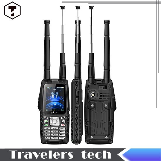 Olive W18 CDMA2000/GSM IP67 Waterproof Mobile Phone with dual sim VHF Walkie Talkie phone 3.0MP Camera two 3000mAh Battery(China (Mainland))