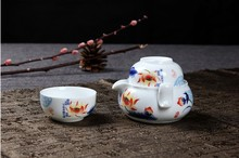 Dragon Kung Fu Tea ceramic porcelain beads show special packages dedicated bubble tea is black tea tea shipping