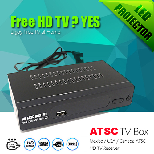 New Full HD 1080p PVR Digital ATSC TV Tuner 1080P TV Box Receiver support USB/HDMI Converter Box for Mexico/USA/Canada<br><br>Aliexpress