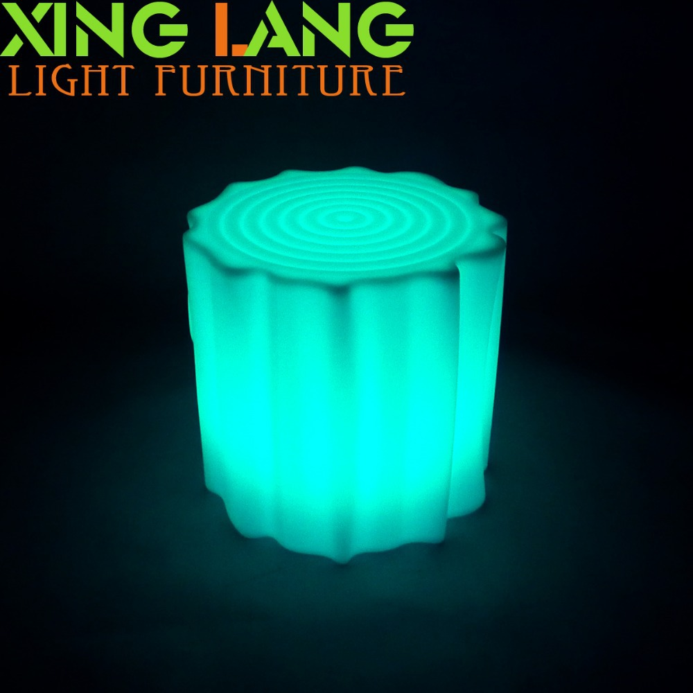 Best sale colorful LED waterproof RGB stump stool outdoor(China (Mainland))